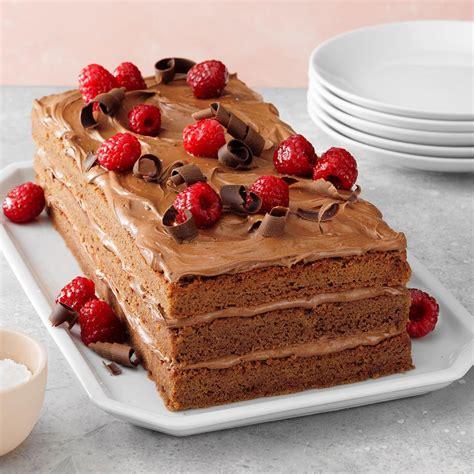 Contest-Winning Raspberry Chocolate Torte Recipe   Taste ...