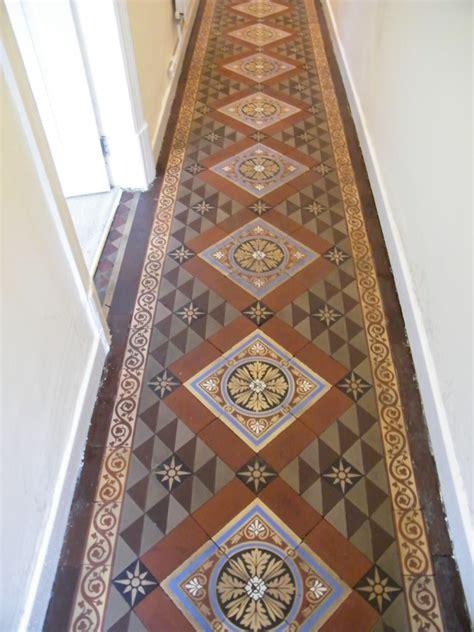 victorian tiled hallway   gabriel smith  kidsgrove staffordshire tile stone medic