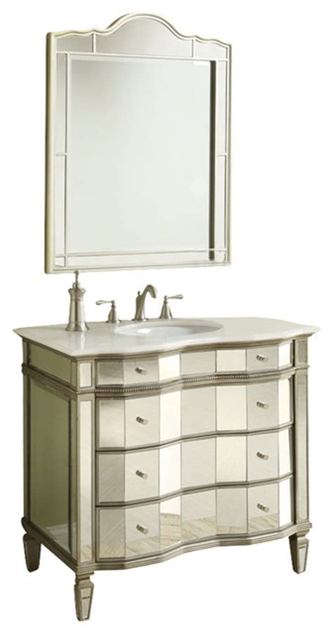 mirrored bathroom vanity cabinet all mirrored bathroom sink vanity cabinet 30 quot traditional bathroom vanities and sink