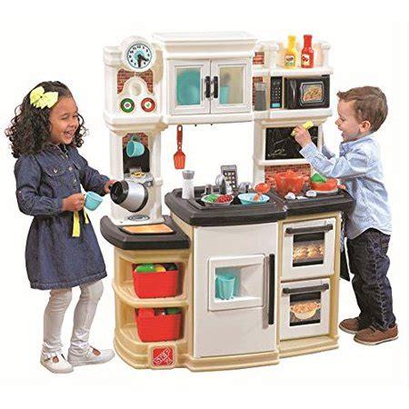 step 2 kitchen set step2 great gourmet neutral kitchen set walmart