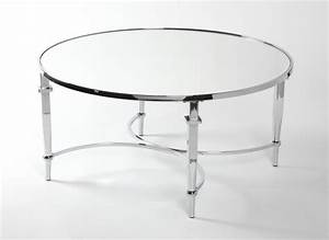 coffee tables ideas awesome round chrome coffee table With small glass and chrome coffee table