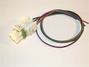 Torque Converter Tcc 700r4 4l60 Connector Pigtail Wiring Harness Tpi Tbi Camaro 707568350027