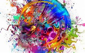 Abstract, Colors, Flashy, Bird, Hd, 4k, Wallpaper