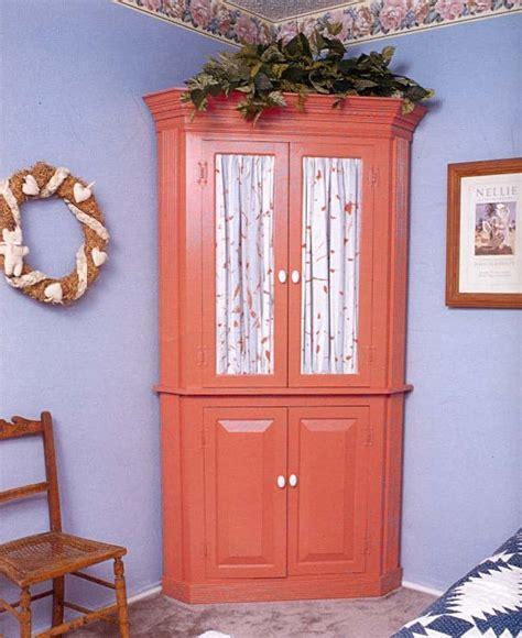 corner cabinet wood furniture plans