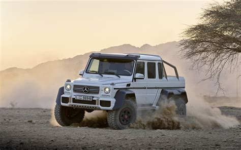 6 X 6 X 6 X 6 by Mercedes G63 Amg 6x6 Concept 2013 Widescreen