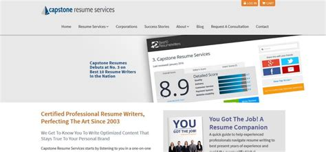 Capstone Resume Services Reviews by Capstoneresumes Review 5 5 10 Properresumes