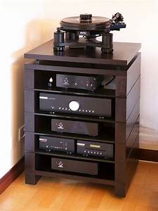 Hifi Stand Audinni WoodMan Cabinet AV Audio Four Five Six