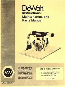 Ryobi Radial Arm Saw Manual