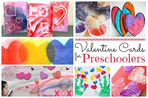 crafts for preschoolers ted s 465 | Valentine Cards for Toddlers