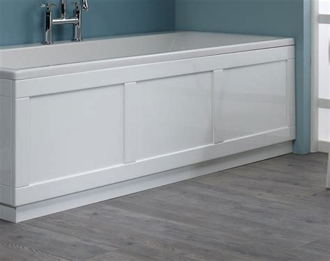 kitchens and baths made roper 800 series white front bath panel 1700mm bp800w