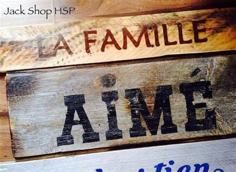recycled pallet family names wall art  pallets