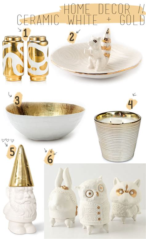 White And Gold White And Gold Home Decor