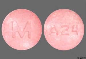Round Pink Pill Xanax