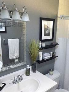 best 25 small bathroom decorating ideas on pinterest With best brand of paint for kitchen cabinets with 5 piece wall art set