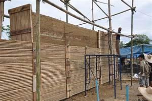 Rammed Earth - Chiangmai Life Construction