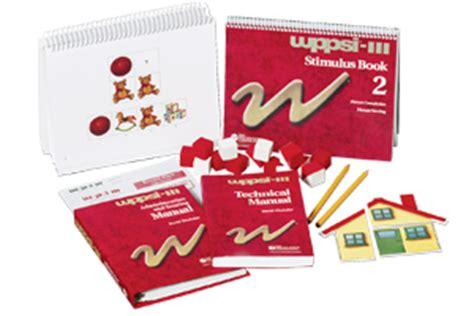 wechsler preschool and primary scale of intelligence 528 | wppsi iii