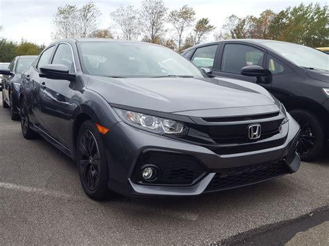 New 2018 Honda Civic Hatchback Ex Cvt Hatchback In Erie