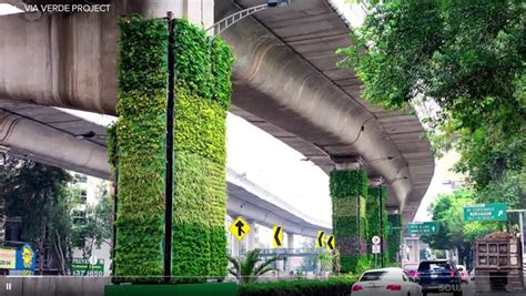 Vertical Garden Project by Mexico City S Vertical Gardens Via Verde Project Citycise