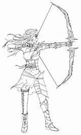 Archer sketch template