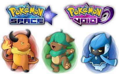 Pokemon Starters Space Void 8th Generation Games