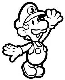 Mario and Luigi Coloring Pages Printable