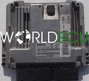 Ecu Engine Controller Jeep Cherokee 2 8 Crd Bosch 0 281 012 593  0281012593  P56044773ad  Fm5ea