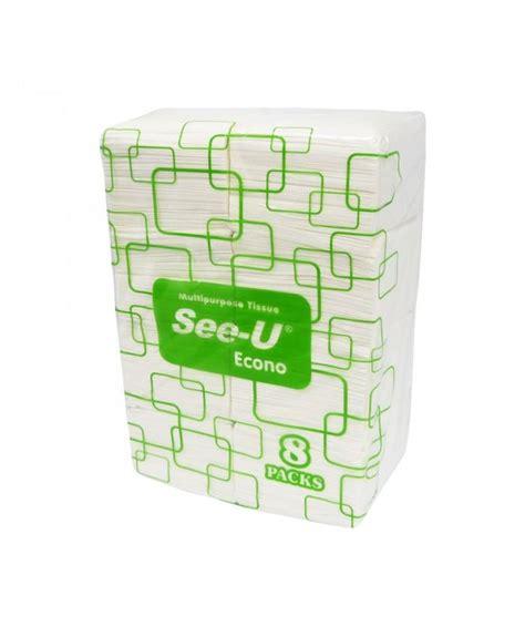 jual see u pop up multipurpose tissue 8 in 1 harga murah