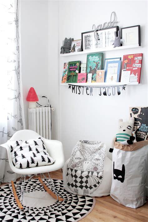 deco chambre style scandinave chambre enfant scandinave noir et blanc 2326 hëllø blogzine