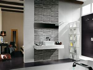 Badezimmer Grau Weiß : badezimmer fliesen ideen 95 inspirierende beispiele ~ Markanthonyermac.com Haus und Dekorationen