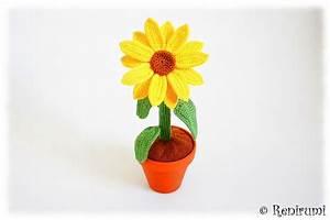 Sonnenblume Im Topf : h kelanleitung sonnenblume sonnenblumen h keln sonnenblumen und t pfchen ~ Orissabook.com Haus und Dekorationen