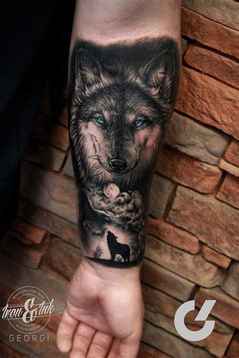 wolf oberarm the 85 best wolf tattoos for improb