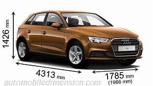 Longueur Audi A3 : longueur audi a3 dimensions des voitures audi longueur x largeur x hauteur audi a3 berline s ~ Medecine-chirurgie-esthetiques.com Avis de Voitures