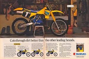Racing Caf U00e8  Vintage Brochures  Suzuki Rm 250 1988  Usa