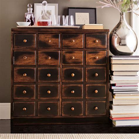 Wood Apothecary Cabinet Plans by Andover Cabinet Weathered Walnut Finish