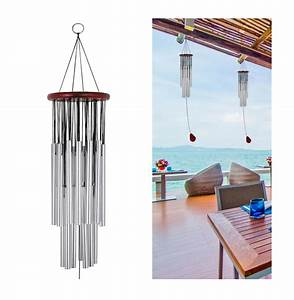 Wind, Chimes, Outdoor, Large, Deep, Tone, Memorial, Wind, Chimes, With, 27, Tubes, 39, Inches