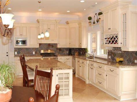 kitchen panels backsplash antique white kitchen cabinets home design traditional