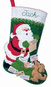 letters in the mail bucilla christmas stocking kit With letter k christmas stockings