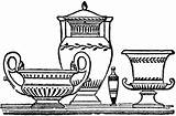 Greek Vases Pages Printable Ancient Coloring Pottery Clipart Grecian Greece Template Patterns Vase Etc Children Designs Pots Antique Andromaque Homeschool sketch template