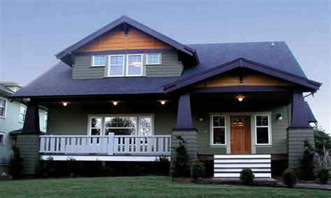 craftsman style homes cottage craftsman bungalow style
