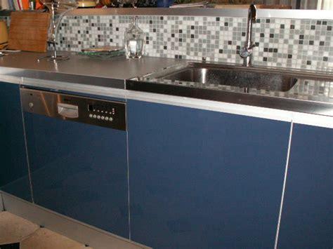 cr 233 dence inox bross 233 pour la cuisine plan de travail inox sur mesure