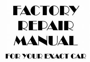 2014 Ford Fusion Service Repair Manual Oem On Usb Flash