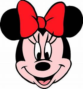 Free coloring pages of minnie mouse faces