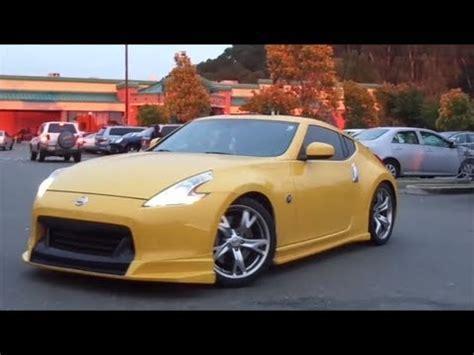 nissan 370z widebody 2013 stunning yellow amuze widebody nissan 370z w loud