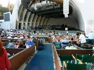Hollywood Bowl Box Seats