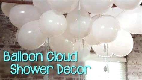 balloon cloud decor video diy