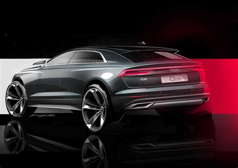 This new Audi Q8 teaser hints the luxury SUV will be no ...