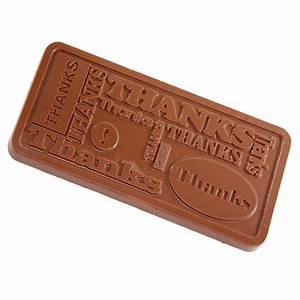 "HERSHEY'S Milk Chocolate ""Thanks"" Mould - 12 oz ..."