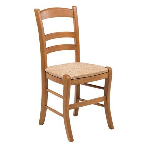 chaises 4 pieds chaise rustique en chêne et paille de seigle 370 4
