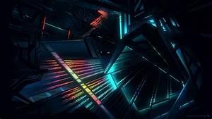 Architecture, Glowing, Futuristic, Hd, Wallpapers, Desktop