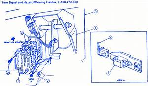 Ford E250 Van 1992 Electrical Circuit Wiring Diagram
